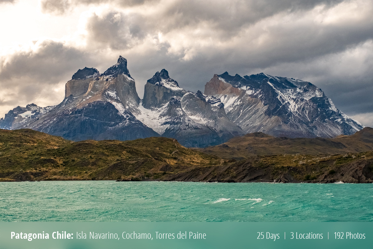 Three weeks exploring Central and South Patagonia.