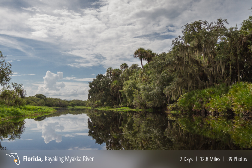 Kayaking Myakka River State Park