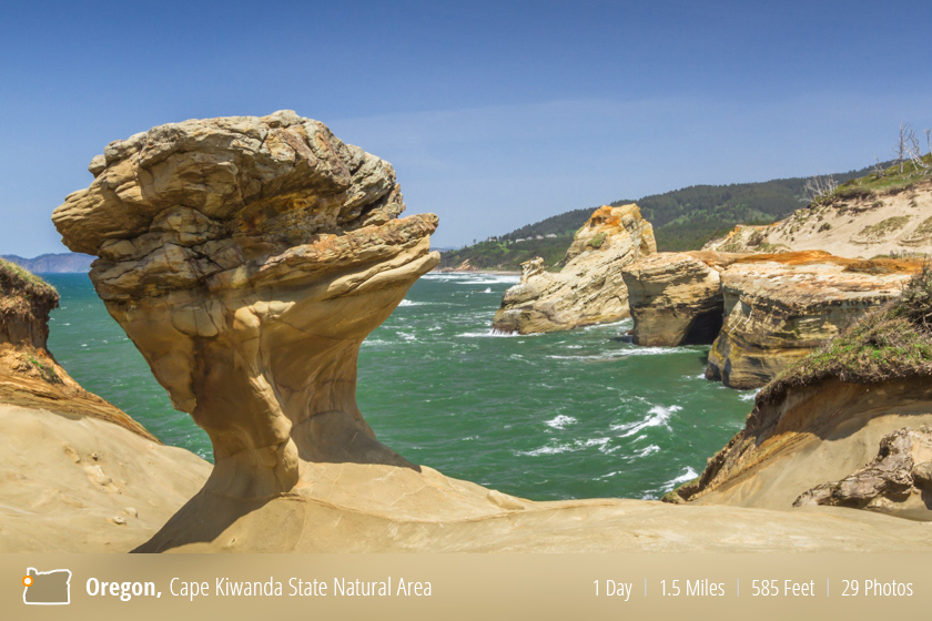 Cape Kiwanda State Natural Area, Pacific City, Oregon