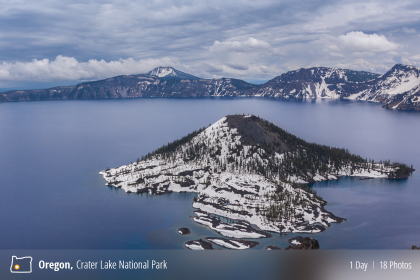 Visiting Crater Lake National Park, Oregon