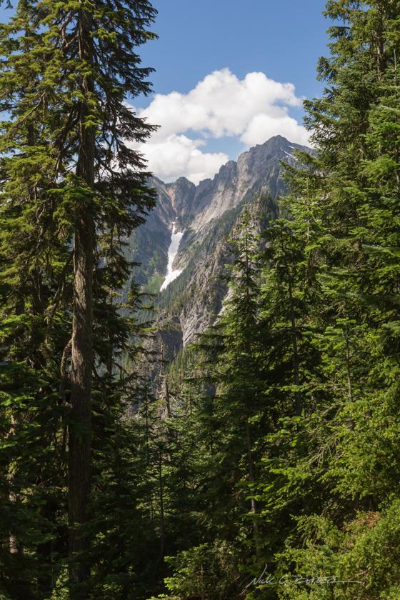 Hiking Washington, Lake Blanca, Wild Sky Wilderness