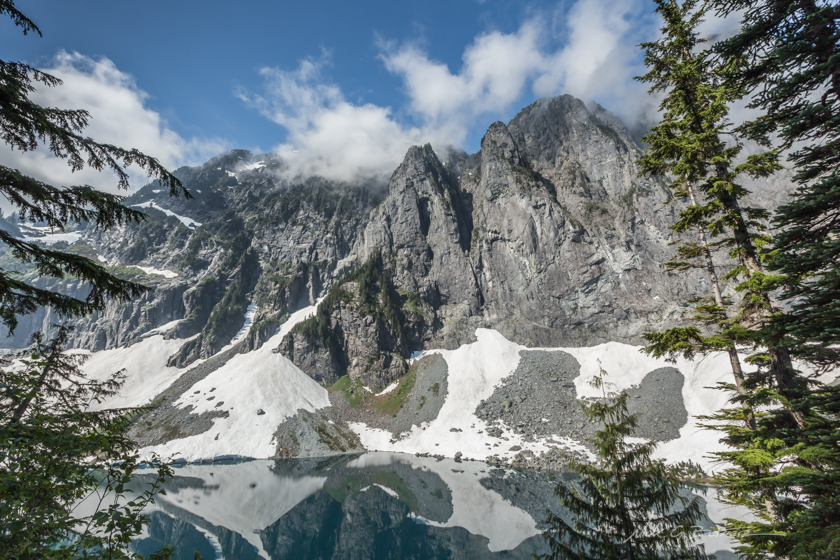 Hiking Bridal Veil Falls and Lake Serene, Washington
