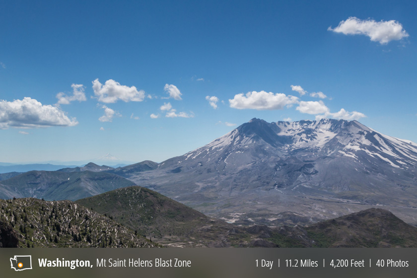 Hiking the Mount Saint Helen's Blast Zone – South Coldwater Trail