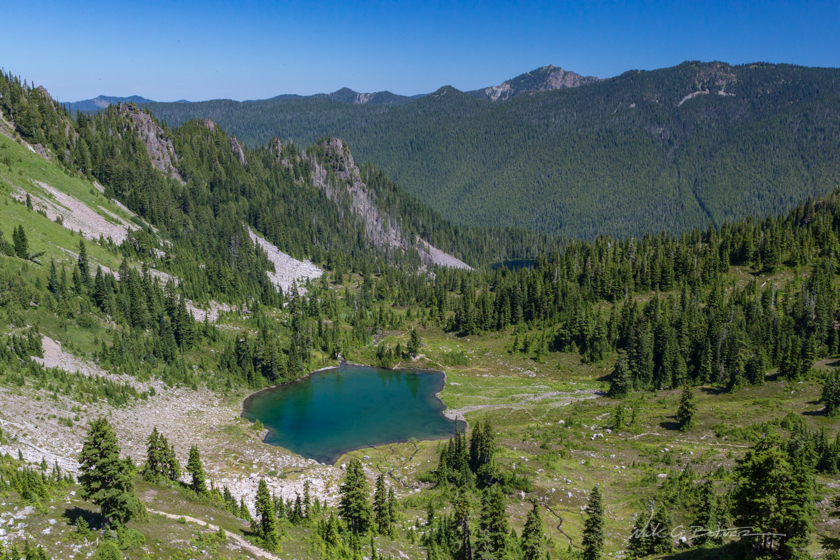 Backpacking the High Divide and Camping in the Seven Lakes Basin, Olympic National Park, Washington