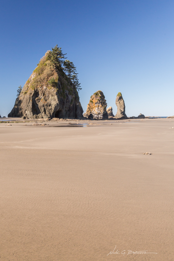 Backpacking Shi Shi Beach, Washington