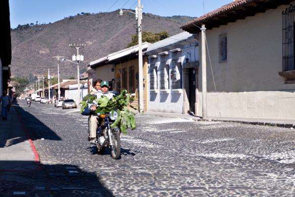People of Antigua, Guatemala