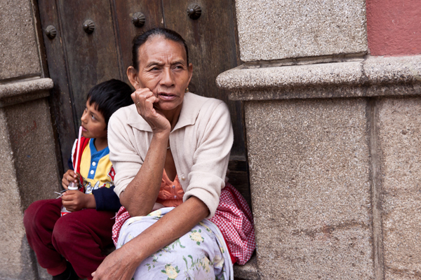 People of Antigua, Guatemala