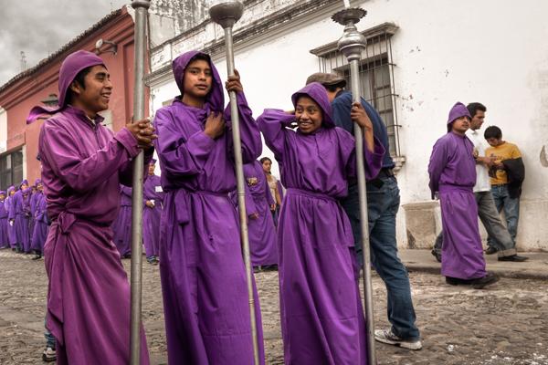 Religious Procession, Semana Santa, Antigua