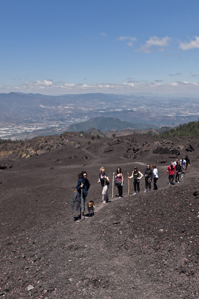 Climbing Volcano Pacaya
