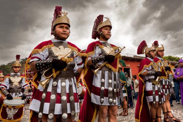 Guatemala – Religious Procession, Semana Santa, Antigua