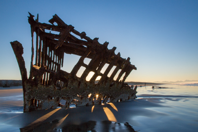 Wreck of the Peter Iredale – Oregon